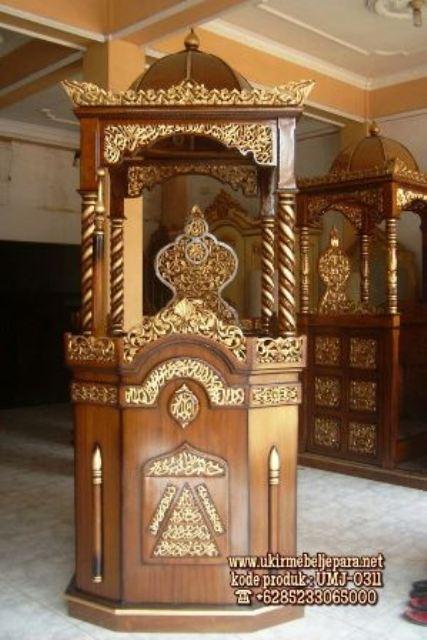 Mimbar Jati Jepara Masjid Di Tegal