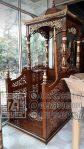 Mimbar Jati Minimalis Masjid Sederhana