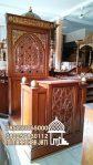 Mimbar Kayu Podium Minimalis Masjid Di Cirebon