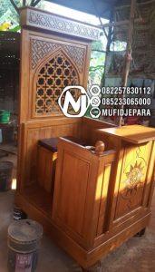 Mimbar Meja Podium Masjid Di Bogor