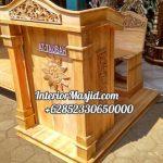 Mimbar Meja Podium Masjid Di Pekalongan