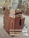 Mimbar Meja Podium Masjid Sederhana