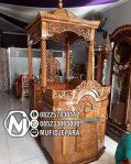 Mimbar Ukir-ukiran Masjid Di Bekasi