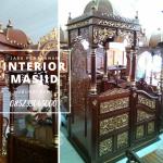 Mimbar Ukir-ukiran Masjid Di Jakarta