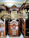 Mimbar Ukir-ukiran Masjid Di Kota