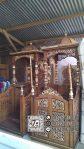 Mimbar Ukir-ukiran Masjid Di Tegal