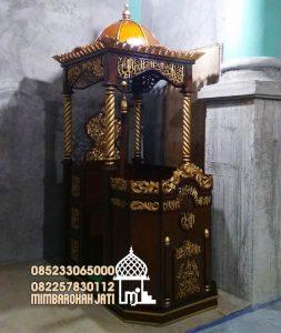 Mimbar Ukiran Masjid Di Pekalongan
