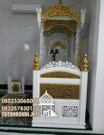 Mimbar Ukiran Masjid Di Semarang