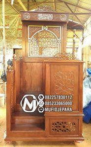 Mimbar Ukir-ukiran Masjid Di Bandung