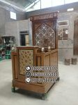 Mimbar Jati Minimalis Masjid Di Tegal