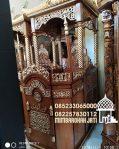 Mimbar Podium Minimalis Pesanan Masjid Agung Blora
