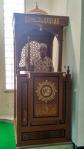Mimbar Masjid Minimalis Ukuran Besar Klasik Kayu Jati