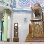 Mimbar Masjid Ukuran Besar Classic Kayu Jati
