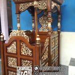 Mimbar Masjid Ukuran Kecil Classic Jati Jepara