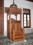 Mimbar Masjid Ukuran Kecil Classic Kayu Jati