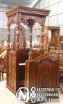 Mimbar Masjid Ukuran Standar Classic Jati Jepara