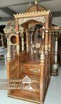 Mimbar Masjid Ukuran Standar Classic Kayu Jati