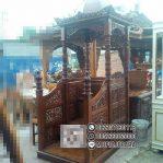 Mimbar Masjid Ukuran Standar Klasik Jati Jepara