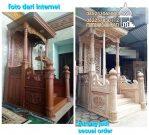 Mimbar Masjid Jombang Dari Jepara