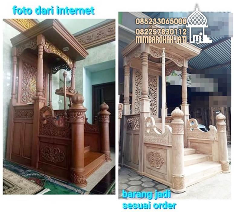 Mimbar Sunnah Masjid Jombang Dari Jepara