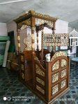 Mimbar Masjid Menteng Buatan Jepara