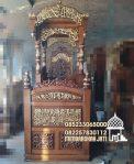 Mimbar Masjid Podium Slawi Dari Jepara