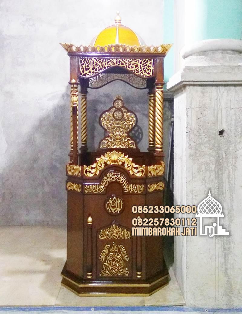 Mimbar Masjid Subang Asli Jepara