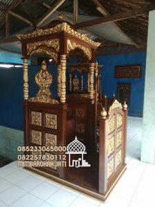 Mimbar Podium Masjid Wonosobo Dari Jepara