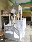 Mimbar Podium Masjid Bandung Barat Asli Jepara