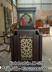 Mimbar Podium Masjid Soreang Asli Jepara