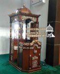 Mimbar Podium Masjid Surabaya Dari Jepara
