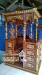 Mimbar Podium Masjid Tulungagung Kayu Jepara