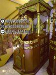 Mimbar Podium Masjid Wonogiri Kayu Jepara