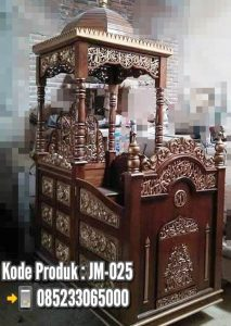 Mimbar Podium Yogyakarta Kayu Jepara