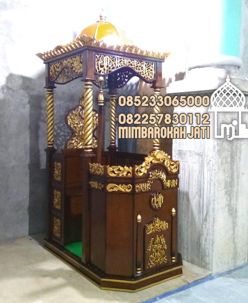 Model Mimbar Podium Cirebon Asli Jepara