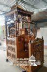 Mimbar Masjid Bandung Barat Asli Jepara