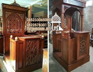 Mimbar Masjid Batang Buatan Jepara