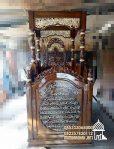 Mimbar Masjid Podium Depok Kayu Jepara