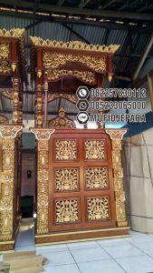 Mimbar Masjid Podium Bojonegoro Buatan Jepara