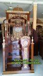 Mimbar Masjid Podium Lamongan Asli Jepara