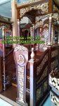 Mimbar Masjid Podium Ponorogo Dari Jepara