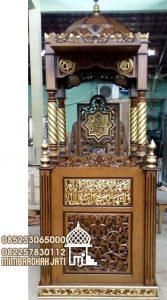 Mimbar Masjid Podium Semarang Dari Jepara