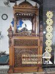 Mimbar Masjid Podium Situbondo Buatan Jepara