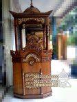 Mimbar Podium Masjid Cirebon Kayu Jepara
