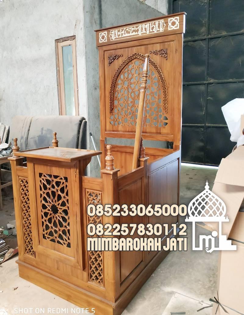 Harga Mimbar Minimalis Tulungagung Kayu Jepara