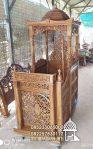 Mimbar Podium Masjid Caruban Dari Jepara